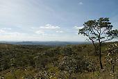 Brasilia, Brazil. Chapada Imperial, private cerrados reserve visitor centre. Cerrados landscape.