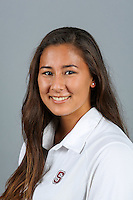 STANFORD, CA-OCTOBER 30, 2014- Natalie Chun of the Stanford Women's Water Polo Team 2014-2015.