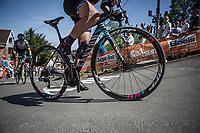 Mur de Huy.<br /> <br /> 21st La Fl&egrave;che Wallonne Femmes <br /> 1 day race: Huy - Huy (118,5KM)