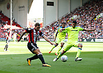 Billy Sharp of Sheffield Utd shoots during the Championship match at Bramall Lane, Sheffield. Picture date 26th August 2017. Picture credit should read: Simon Bellis/Sportimage