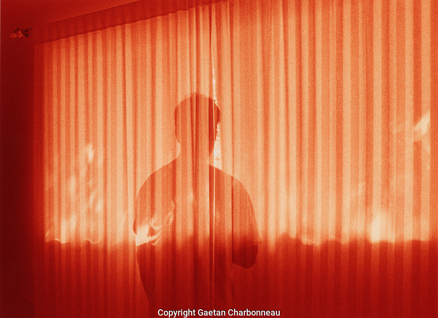 The red curtain