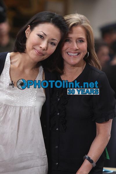 Ann Curry, Meredith Vierra, 2008, Photo By John Barrett/PHOTOlink