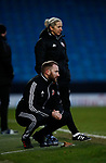 Tom Fitton assistant coach during the The FA Women's Championship match at the Proact Stadium, Chesterfield. Picture date: 8th December 2019. Picture credit should read: Simon Bellis/Sportimage
