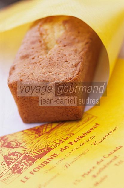 """Europe/France/Bretagne/Ille et Vilaine/St Malo/Rotheneuf: Quatre-Quart de Yann Rocaboy boulanger """"le Fournil de Rotheneuf"""""""