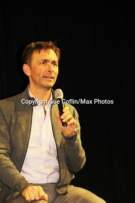 General Hospital's actor James Patrick Stuart on October 5, 2019 at the Hollywood Casino, Columbus, Ohio with a Q & A and a VIP meet and greet. (Photo by Sue Coflin/Max Photo)