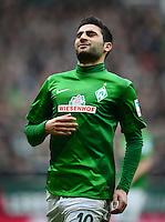 FUSSBALL   1. BUNDESLIGA   SAISON 2012/2013    24. SPIELTAG SV Werder Bremen - FC Augsburg                           02.03.2013 Mehmet Ekici (SV Werder Bremen)