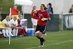 29 October 2004: Meghan Miller. Kansas defeated Iowa State 4-0 in Lawrence, KS to clinch the Big XII Conference Womens Soccer Championship..