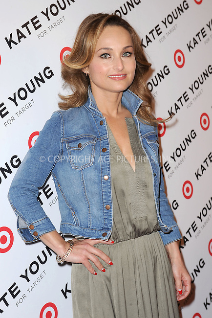 WWW.ACEPIXS.COM . . . . . .April 9, 2013...New York City....Giada De Laurentiis attends the Kate Young For Target Launch at The Old School NYC on April 9, 2013 in New York City ....Please byline: KRISTIN CALLAHAN - ACEPIXS.COM.. . . . . . ..Ace Pictures, Inc: ..tel: (212) 243 8787 or (646) 769 0430..e-mail: info@acepixs.com..web: http://www.acepixs.com .