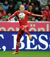 FUSSBALL   1. BUNDESLIGA  SAISON 2011/2012   17. Spieltag FC Bayern Muenchen - 1. FC Koeln       16.12.2011 Arjen Robben (FC Bayern Muenchen)
