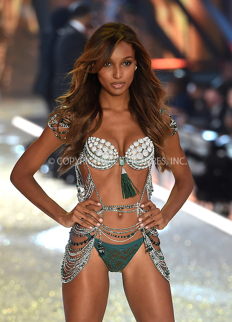 www.acepixs.com<br /> <br /> November 30 2016, New York City<br /> <br /> Jasmine Tookes wearing the Fantasy Bra as she walks the runway during the Victoria's Secret Fashion Show on November 30, 2016 in Paris, France.<br /> <br /> By Line: Alain Benainous/ACE Pictures<br /> <br /> <br /> ACE Pictures Inc<br /> Tel: 6467670430<br /> Email: info@acepixs.com<br /> www.acepixs.com