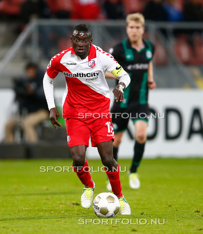 Nederland, Utrecht, 26 oktober 2012.Eredivisie.Seizoen 2012-2013.FC Utrecht-FC Groningen (1-0).Nana Asare aanvoerder van FC Utrecht