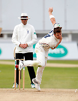 Matt Henry bowls for Kent during the Specsavers County Championship division two game between Kent and Glamorgan at the St Lawrence Ground, Canterbury, on Sept 18, 2018