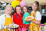Josie Rose Boyle, Tina Johnson, Ellen O'Connor, and Jemma Key enjoying the Flavour of Killorglin festival on Saturday