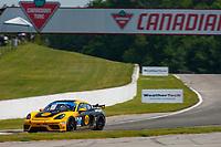 #13 AWA Porsche Cayman GT4 MR, GS: Orey Fidani, Scott Hargrove