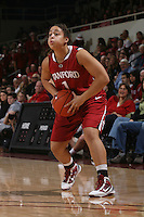 STANFORD, CA - JANUARY 30:  Grace Mashore of the Stanford Cardinal during Stanford's 83-62 win over Arizona on January 30, 2010 at Maples Pavilion in Stanford, California.