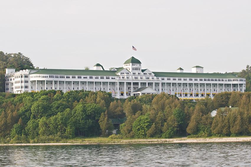 The Grand Hotel on Mackinac Island Michigan.