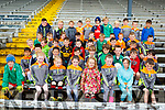 Budding footballers enjoying Cul Camp in Fitzgerald Stadium on Wednesday