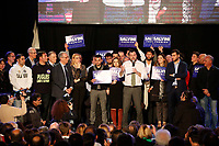 Matteo Salvini a Napoli durante il suo intervento nella mostra d'ioltremare