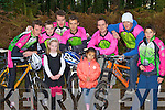 Members of Killarney Cycling club who are lokking for new members to sign up l-r: Darren O'mahony, Christopher, Edel Sweetman, Brendan O'Mahony, Chris O'Toole, Elaine O'Doherty, Keith Cronin, Max Slattery and Nelu O'Doherty