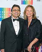 Edward Villella and his wife, Linda Carbonetto, arrive for the formal Artist's Dinner honoring the recipients of the 2013 Kennedy Center Honors hosted by United States Secretary of State John F. Kerry at the U.S. Department of State in Washington, D.C. on Saturday, December 7, 2013. The 2013 honorees are: opera singer Martina Arroyo; pianist,  keyboardist, bandleader and composer Herbie Hancock; pianist, singer and songwriter Billy Joel; actress Shirley MacLaine; and musician and songwriter Carlos Santana.<br /> Credit: Ron Sachs / CNP