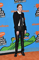 Sadie Sink at Nickelodeon's 2018 Kids' Choice Awards at The Forum, Los Angeles, USA 24 March 2018<br /> Picture: Paul Smith/Featureflash/SilverHub 0208 004 5359 sales@silverhubmedia.com