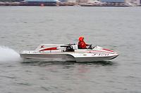 "F-128 ""Miss Jean"", 266 class hydroplane..10-12 July, 2009, 100th Gold Cup, Detroit River, Detroit, MI USA..©2009 F.Peirce Williams, USA."
