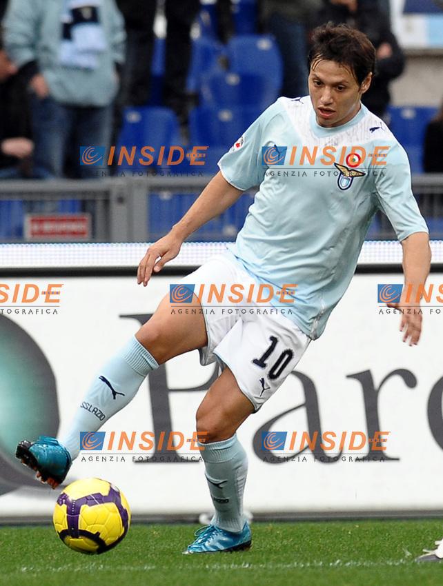 Mauro Zarate (Lazio)<br /> Lazio vs Bologna 0-0<br /> Campionato di Cacio Serie A<br /> Stadio Olimpico, Roma, 29/11/2009<br /> Photo Antonietta Baldassarre Insidefoto