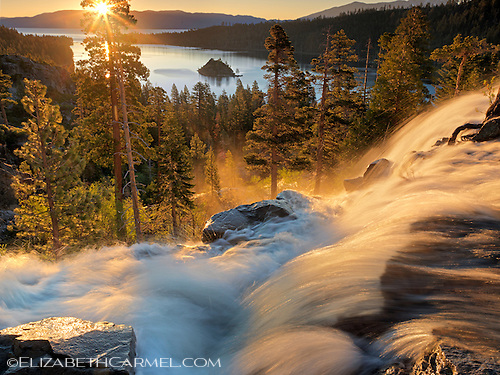 Sunglow, Eagle Falls