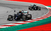 5th July 2020; Red Bull Ring, Spielberg Austria; F1 Grand Prix of Austria, Race Day; 77 Valtteri Bottas FIN, Mercedes-AMG Petronas Formula One Team on his way to winning the race