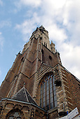 Delft, Netherlands - November 5, 2007 -- The Nieuwe Kerk (New Church) in Delft, Netherlands on Monday, November 5, 2007.  It is located on the Market Square opposite the Delft City Hall (Stadhuis).  Many members of the Dutch House of Orange including Queen Juliana and her husband, Prince Bernhard are entombed in the church's royal crypt..Credit: Ron Sachs / CNP