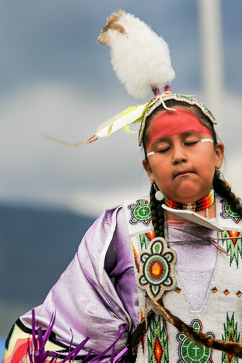 Young Shawl Dancer - Buffalo Bill Historical Center Powwow