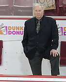 Jim Logue (BC - Assistant Coach) - The Boston College Eagles defeated the visiting University of Vermont Catamounts to sweep their quarterfinal matchup on Saturday, March 16, 2013, at Kelley Rink in Conte Forum in Chestnut Hill, Massachusetts.