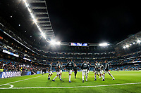 Real Madrid's team warm up during La Liga match between Real Madrid and Valencia CF at Santiago Bernabeu Stadium in Madrid, Spain. December 01, 2018. (ALTERPHOTOS/A. Perez Meca) /NortePhoto NORTEPHOTOMEXICO