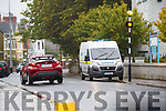 Scene of a Stabbing in TRaleee on Monday near Kerry County Library,