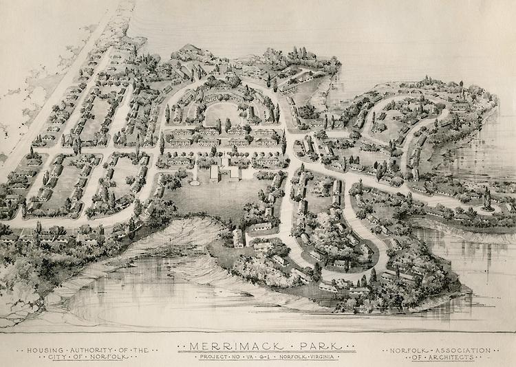 UNDATED...Merrimack Landing   ..Merrimack Park Project #6-1 Rendering...NEG#.454..