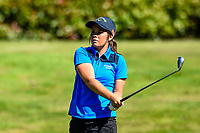 Lizzie Neale of Tasman. Toro New Zealand Womens Interprovincial Tournament, Waitikiri Golf Club, Christchurch, New Zealand, 4th December 2018. Photo:John Davidson/www.bwmedia.co.nz