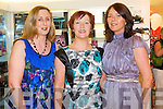 Angela O'Sullivan, Eileen Kennedy and Kay Sheehan enjoying Friday Night Live at CH Chemists with Amanda Brunker.
