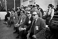 - Hausen (Frankfurt), demolition of mobile launchers for nuclear middle range missiles Pershing II after INF treaty  between USA and Soviet Union; USSR military observers<br /> <br /> - Hausen (Francoforte), demolizione delle rampe di lancio mobili per missili nucleari a medio raggio Pershing II a seguito del trattato INF fra USA e Unione Sovietica; osservatori militari dell'URSS