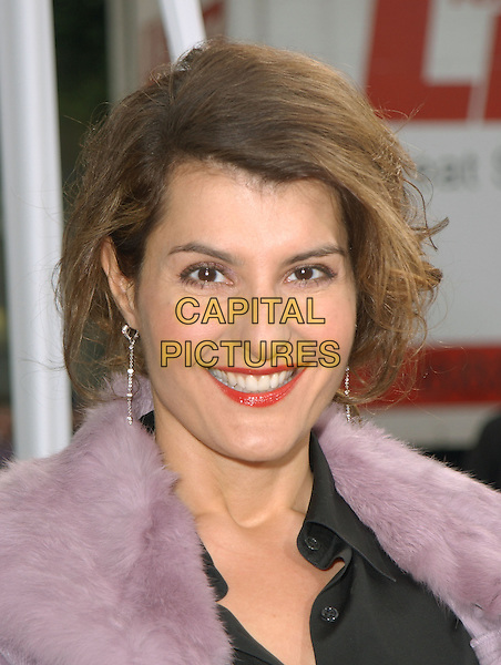 "NIA VARDALOS.The Warner Brothers' World Premiere of ""Polar Express"" held at The Graumann's Chinese Theatre in Hollywood, California on .November 7th, 2004.headshot, portrait.www.capitalpictures.com.sales@capitalpictures.com.©Debbie Van Story/Capital Pictures"