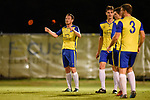 BRISBANE, AUSTRALIA - APRIL 28:  during the NPL Queensland Senior Mens Round 13 match between Olympic FC and Brisbane Strikers at Goodwin Park on April 28, 2019 in Brisbane, Australia. (Photo by Patrick Kearney)