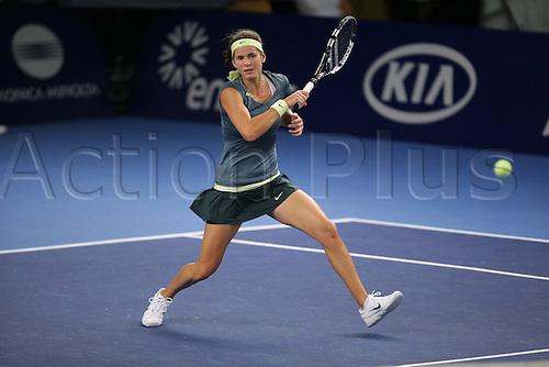 19.10.2012, Luxemburg. BNP Paribas WTA womens tennis tournament. Juliet Goerges Germany