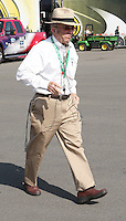 March 23, 2013 Fontana, CA: Auto Club Speedway. Jack Roush walks through the garage are at the Auto Club Speedway