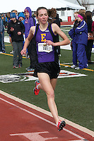 Eureka High School junior Hannah Long captured the 1600 and 800 meter titles at the Festus Early Bird track and field invitational, Saturday, March 29, in Festus, Mo. Long's 4:45.84 in the 1600 is the best is the fastest time by a high school girl in the U.S. so far this season, and is believed to be the second best-ever for a Missouri high school girl, only behind Emily Sisson's 4:44 for a full mile in 2010.