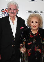 LOS ANGELES, CA, USA - APRIL 22: Jack Betts, Doris Roberts at the 8th Annual BritWeek Launch Party on April 22, 2014 in Los Angeles, California, United States. (Photo by Celebrity Monitor)