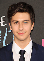 NEW YORK CITY, NY, USA - JUNE 02: Nat Wolff at the New York Premiere Of 'The Fault In Our Stars' held at Ziegfeld Theatre on June 2, 2014 in New York City, New York, United States. (Photo by Jeffery Duran/Celebrity Monitor)
