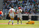 Folau Niua Day 1 at Cape Town Stadium duirng the HSBC World Rugby Sevens Series 2017/2018, Cape Town 7s 2017- Photo Martin Seras Lima