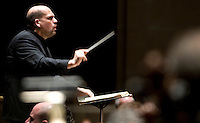 Dallas Symphony Orchestra Conductor Jaap van Zweden (cq) leads a performance of Requiem by Verdi at the Eugene McDermott Concert Hall in the Meyerson Symphony Center in Dallas, Texas, at 8:11PM Wednesday, April 24, 2008. The performance included a full orchestra and also included the Dallas Symphony Chorus...MATT NAGER/SPECIAL CONTRIBUTER
