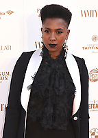 Jade Anouka at The Old Vic Bicentenary Ball held at The Old Vic, The Cut, Lambeth, London, England, UK on Sunday13 May 2018.<br /> CAP/MV<br /> &copy;Matilda Vee/Capital Pictures