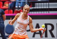 April 18, 2015, Netherlands, Den Bosch, Maaspoort, Fedcup Netherlands-Australia,  Arantxa Rus (NED)  <br /> Photo: Tennisimages/Henk Koster