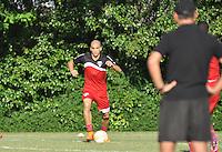 SÃO PAULO.SP. 20.04.2015 - SPFC TREINO - Doria zagueiro do São Paulo durante o treinamento do São Paulo no CT da Barra Funda zona oeste nesta segunda feira 20. ( Foto: Bruno Ulivieri / Brazil Photo Press )
